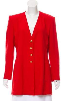 Sonia Rykiel Structured Crepe Jacket