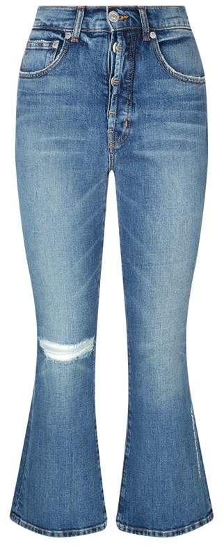 Adaptation Flared Cropped Jeans