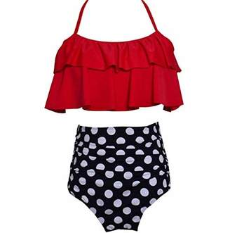 cb198082e954e at Amazon Canada · DaiLiWei High Waisted Swimsuit for Women Two Piece  Bathing Suit Bikini Tankini Swimsuits for Girls
