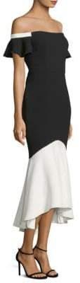 Rachel Zoe Devin Off-The-Shoulder Ruffle Dress