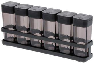 Tower スパイスボトル&ラックタワー 6連セット