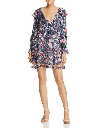 For Love & Lemons Floral Drawstring Dress $304 thestylecure.com