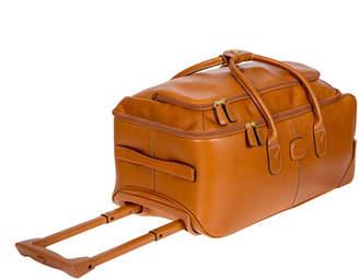 "Bric's Life Pelle 21"" Rolling Duffel Bag Luggage"