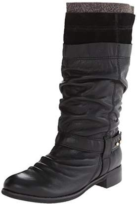 All Black ALL Women's Layered Boot 2