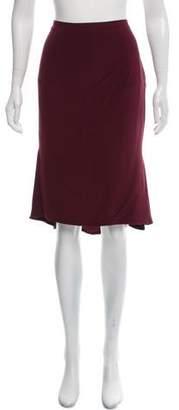 Tom Ford Silk Knee-Length Skirt
