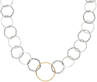 Peter Thomas Roth Sterling & 18K Signature Necklace