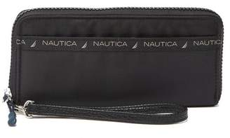 Nautica Single Zip Around Wrist Wallet