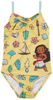 Disney Moana One Piece Swimsuit Toddler Girls