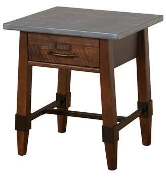 Millwood Pines St Andrews End Table with Storage