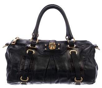 Marc Jacobs Belted Push-Lock Satchel