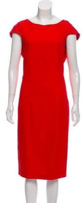 Osman Cap Sleeve Midi Dress