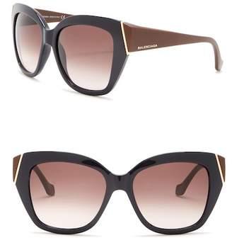 Balenciaga Injected 57mm Sunglasses