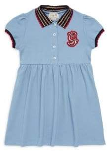 Gucci Little Girl's& Girl's Patch Dress