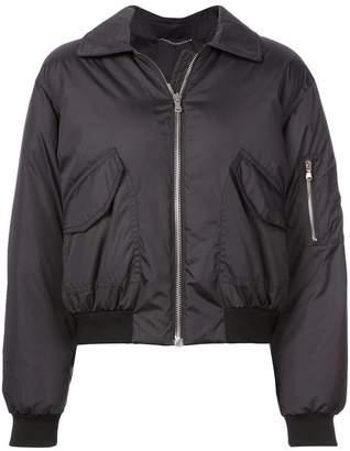 Moschino teddy bear bomber jacket