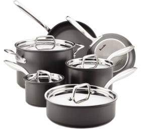 Breville Thermal Pro Hard Anodized Non-Stick 10-Piece Cookware Set