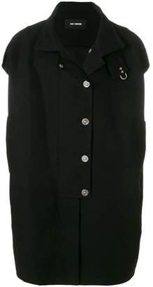 Raf Simons sleeveless couture coat