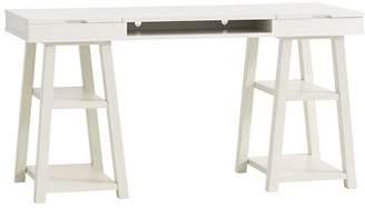 Pottery Barn Teen Customize It Project Desk Top + Trestle Legs, Tuscan
