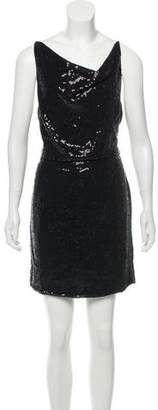 Robert Rodriguez Sequin Mini Dress