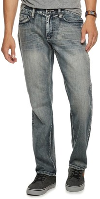 Men's Urban Pipeline Relaxed Straight-Leg Medium Wash Jeans