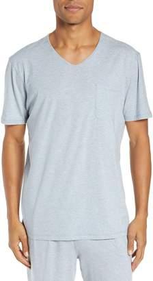Daniel Buchler V-Neck Stretch Cotton & Modal T-Shirt