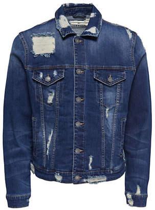 ONLY & SONS Destroyed Denim Jacket