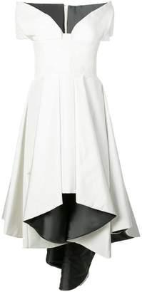 Rubin Singer high low tulip gown