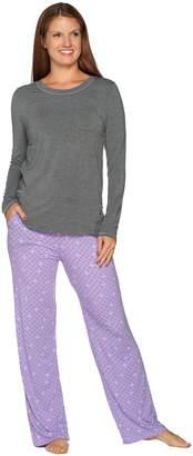 Cuddl Duds Softwear with Stretch Novelty Pajama Set