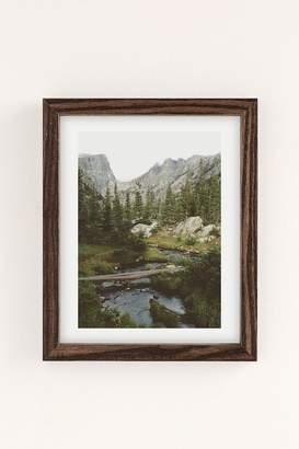 Kevin Russ Dream Lake Creek Art Print