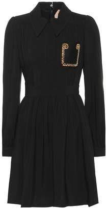 N°21 Embellished crepe dress