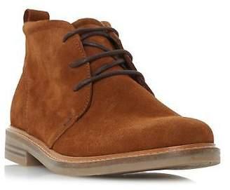 Dune Mens CHADWICK Round Toe Chukka Boot in Tan Size UK 6