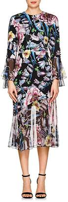 Prabal Gurung Women's Floral Silk Dress