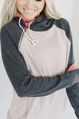 Ampersand Avenue DoubleHood Sweatshirt - In The Woods