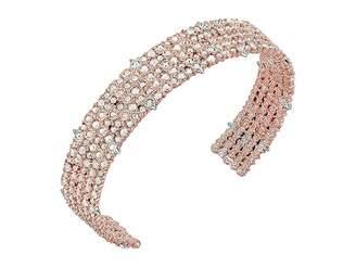 Alexis Bittar Crystal Lace Cuff Bracelet
