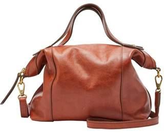Fossil Sadie Satchel Handbag Brandy