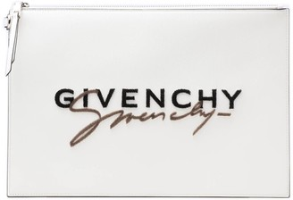 Givenchy Embroidered Pouch