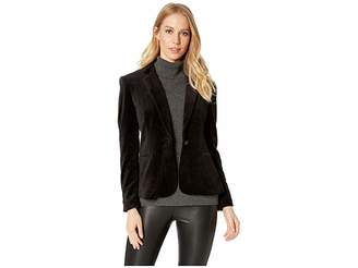 Juicy Couture Track Velour Solid Blazer