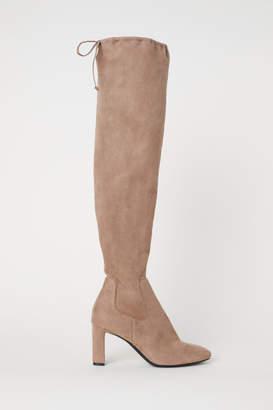 H&M Thigh-high Boots - Brown