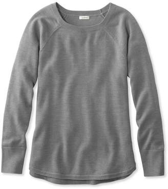 L.L. Bean L.L.Bean Washable Merino-Wool Sweater, Pullover