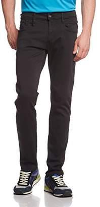 Replay Hyperflex Men Slim Jeans Anbass - Black