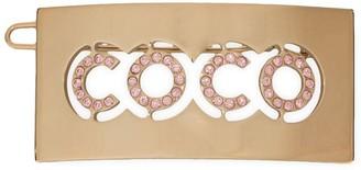 Chanel Pre-Owned CC Logos Hair Barrette