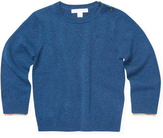 Burberry Solid Cashmere Sweater