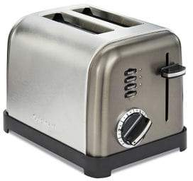 Cuisinart Two-Slice Classic Stainless Steel Toaster