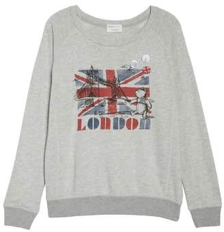 David Lerner London Bridge French Terry Sweatshirt