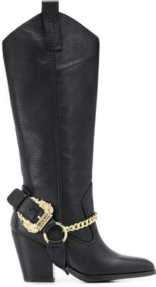 Versace ranch boots