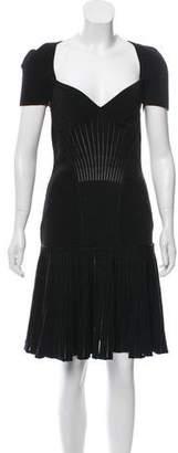 Alexander McQueen Wool Cocktail Dress w/ Tags