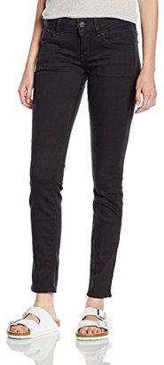 G-Star Raw Women's Lynn Midrise Skinny Slander Black Super Stretch Rinsed Jean $180 thestylecure.com