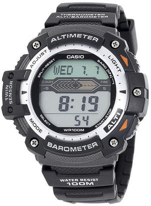 Casio Twin Sensor Mens Altimeter/Barometer Digital Sport Watch SGW300H-1AVCF