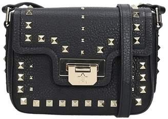Ash Black Leather Bag