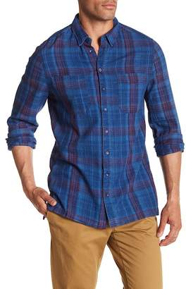 William Rast Long Sleeve Plaid Regular Fit Shirt