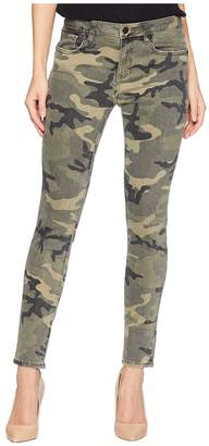 Miss Me Five-Pocket Ankle Skinny Jeans in Camo Green Women's Jeans